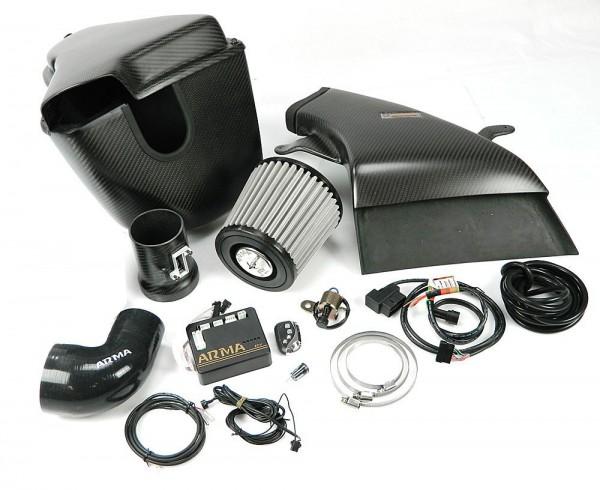 ARMA Carbon Airbox Variable Ansaugung Audi A4 B8 2.0T