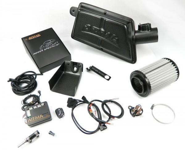 ARMA Carbon Airbox Variable Ansaugung BMW F20 116 118