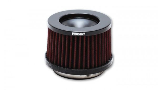 Vibrant Perfomance Performance Luftfilter - 76mm Einlass - Kurz