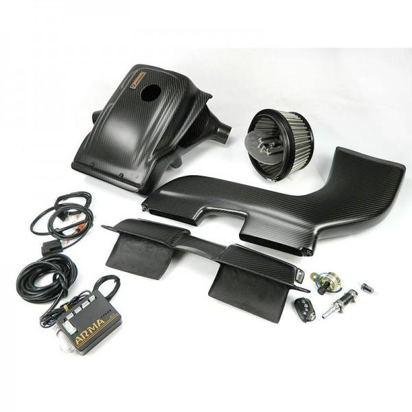 ARMA Carbon Airbox Variable Ansaugung BMW E90 335