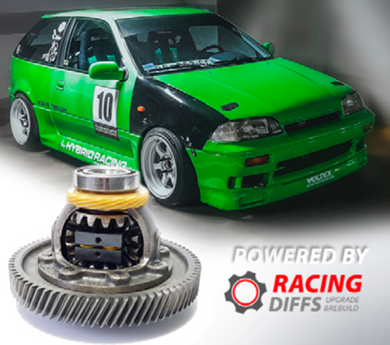 Progressive Limited Slip Differential set for Suzuki Swift Gti Mk2